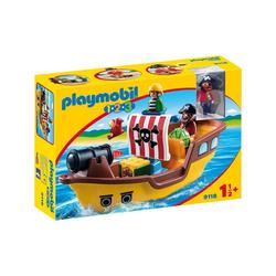 Playmobil® Spielwelt PLAYMOBIL® 9118 - 1•2•3 - Piratenschiff