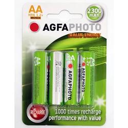 AgfaPhoto Akku AA HR6 2300 mAh (4 Stück)