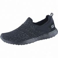 SKECHERS Under Wraps coole Damen Textil Sneakers black, Air-Cooled-Memory-Foam-Fußbett, 4238143/39