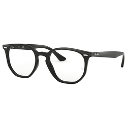 RAY BAN Brille Hexagonal RX7151 schwarz