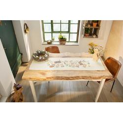 HomeLiving Tischläufer Frohe Ostern