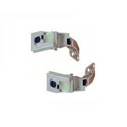 Hettich Möbelbeschlag Glastürscharnier Zinkdruckguss Scharnier Paar für Glastür aufliegend