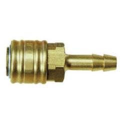 Kupplung Schlauchanschluss 9 mm LW aus Messing