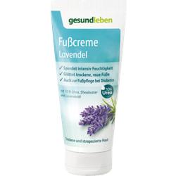 GESUND LEBEN Fußcreme Lavendel 100 ml