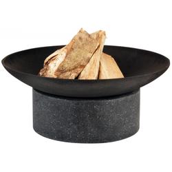 Esschert Design | FF136 | Feuerschale Granito mit Ringsockel