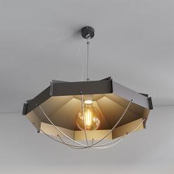 Retro Industrielampe RAFI ø 60 cm Schwarz