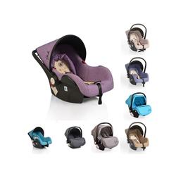 Moni Babyschale Babyschale Gala, Gruppe 0+, 3 kg, (0 - 13 kg), Sitzpolster, Fußabdeckung lila