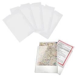 50 bene Sichttaschen Sichttasche glasklar glatt DIN A5