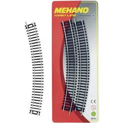 Mehano 30849 H0 4er Set gebogenes Gleis
