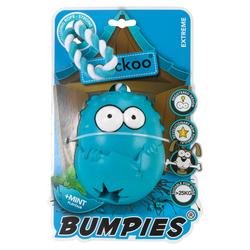 Coockoo Hundespielzeug Bumpies mit Seil Mint, Maße: 13 x 10,2 x 8,8 cm