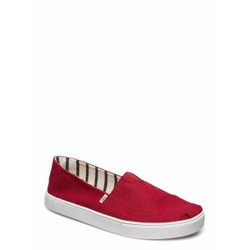 TOMS Red Heritage Canvas Espadrilles Schuhe Rot TOMS Rot