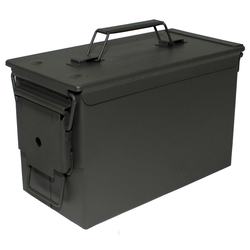 MFH Kiste US Munitionskiste Metall Transportkiste Box oliv