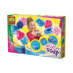 SES Creative Kreativset Glitter Soap - Seifen gießen