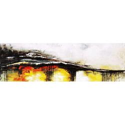 Gemälde Welle