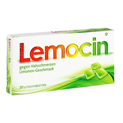 Lemocin gegen Halsschmerzen