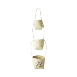 rice Dekokorb hängende Seegras Aufbewahrungskörbe natur