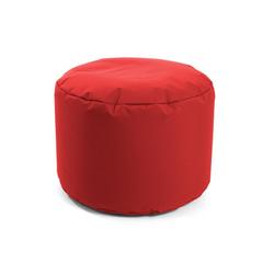 mokebo Pouf Der Ruhepouf, Outdoor Sitzkissen, Sitzhocker & Sitzpouf, in rund o. eckig & vielen Farben rot 60 cm x 40 cm x 60 cm