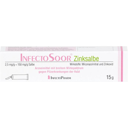 INFECTOSOOR Zinksalbe 15 g