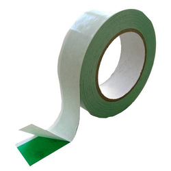 Double-Tape grün-weiss 35 mm x 25 m / Rolle