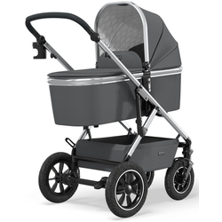 Moon Kombi-Kinderwagen Nuova Air grau