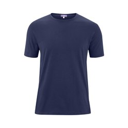 Living Crafts FABIAN ; Ökologisches T-Shirt für Herren - navy - XXL