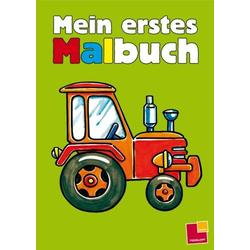 Tessloff Mein erstes Malbuch, grün 978-3-7886-3052-2