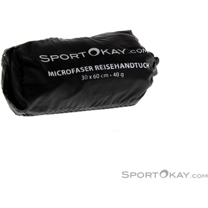 SportOkay.com Towel S Microfaser Handtuch-Blau-S