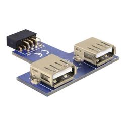Delock USB Pinheader - USB-Adapter (W) bis USB (W)