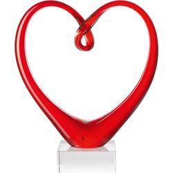 Skulptur rot Heart