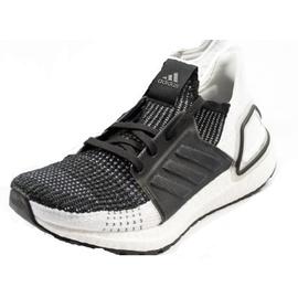 adidas Ultraboost 19 black-white/ white, 41.5