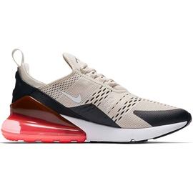 Nike Men's Air Max 270 cream black white coral, 47.5 ab 149