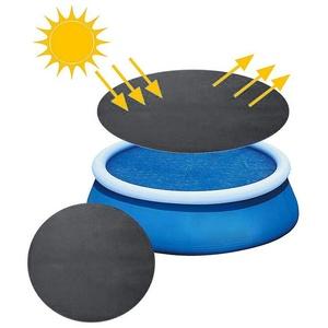 2021 Premium Poolabdeckung Rund Ø 300CM Pool Cover Solar-Abdeckung Wärmeplane Solarplane Solarabdeckung Wärmeplane Solarfolie Poolabdeckplane Solarheizung Poolheizung 210D Schwarz Diverse Größen