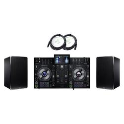 Denon DJ Prime 2 Standalone DJ System DN-506S Set