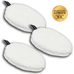 Waschies Abschmink-Pads 3er-Set 12,5x8cm weiß
