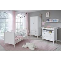 trendteam Babyzimmer Ole 4-tlg. weiß