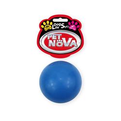 Hundespielzeug Kauspielzeug BALL-S-BL Ball Vanille Aroma 5cm blau