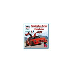 Universal Hörspiel CD Was ist Was - Faszination Autos/Eisenbahn