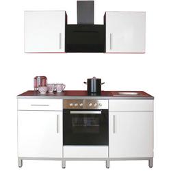 Menke Küchen Küchenzeile Rack-Time II 180, mit E-Geräten