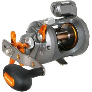 OKUMA FISHING TACKLE CW-153DLX Kaltwasser-Schnurlaufrolle, Mehrfarbig