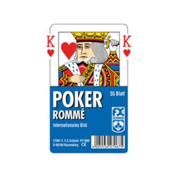 Poker, Internationales Bild
