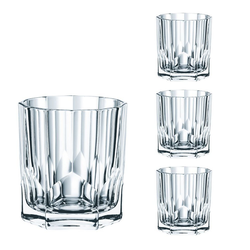 Nachtmann Glas Nachtmann Aspen Whiskybecher Set 4tlg, Kristallglas
