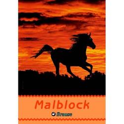 Malblock A4 70g/qm 100 Blatt