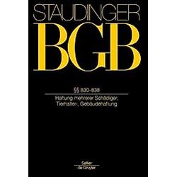 BGB §§ 830-838 (Unerlaubte Handlungen 3) - Buch
