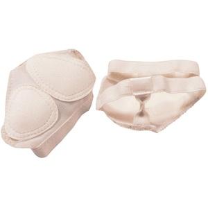 TENDYCOCO 1 Paar Fuß Tanga Fuß Thong Metatarsal Pads Anti-Slip Vorfußpolster Pads Ballenschutz für Männer Frauen Tanzen Ballett Bauchtanz - Größe S