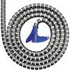 HellermannTyton HWPP-8MM-PP-BK-Q1 Kabelschlauch 9mm (max) Schwarz 25m
