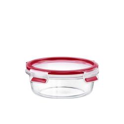 Emsa Frischhaltedose Glas Frischhaltedose rund Clip Close Glas, Glas, (1-tlg) 600 ml