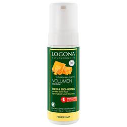 Logona Volumen Schaum Bier & Bio-Honig Haarshampoo 150ml
