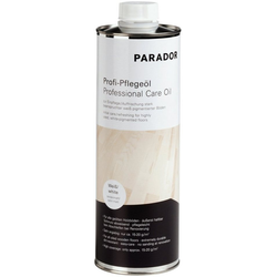 PARADOR Bodenpflege Profi-Pflegeöl, für weiß pigmentierte Parkettböden, 1 l weiß