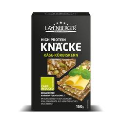 LOWCARB.ONE High Protein Knäcke Käse-Kürbiskern 150 g