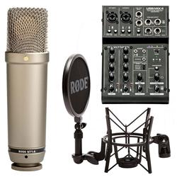 RODE Microphones Mikrofon Rode NT1-A Set + ART USB-Mischpult